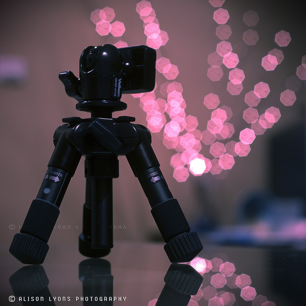 Tripod and bokeh