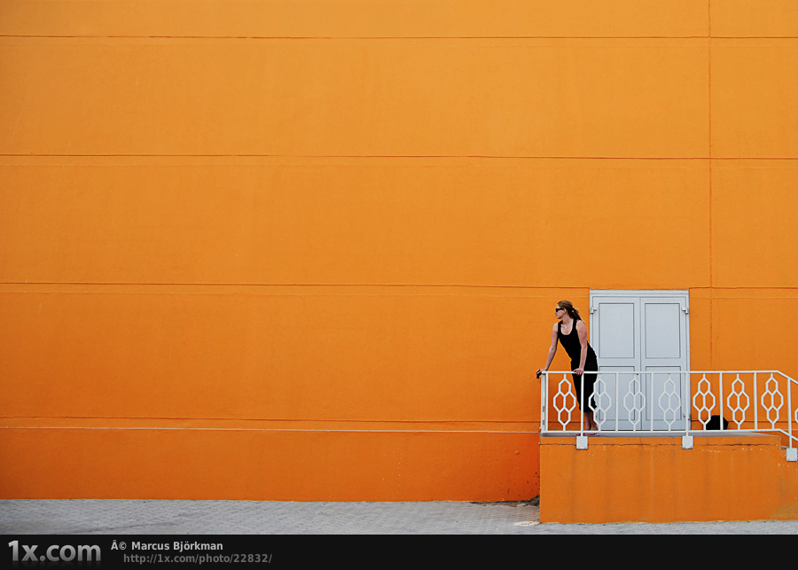 Orange View by Marcus Bjorkman An introduction to minimalism in photography with stunning examples