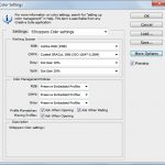 How to configure photoshop color settings