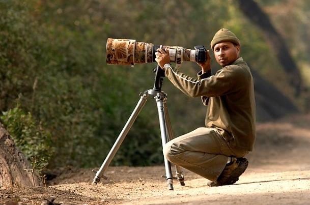 wildlife photographer Sudhir Shivaram