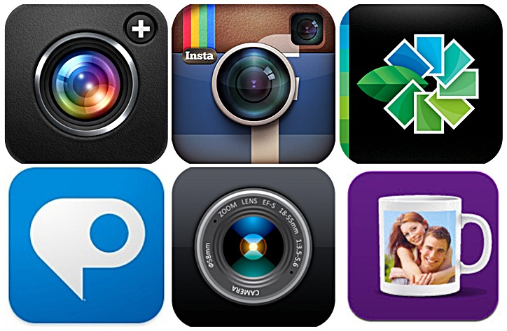 Photo apps for smartphones