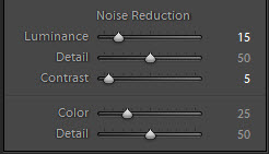 noise reduction box in lightroom 4