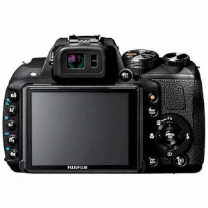 Fujifilm FinePix HS25EXR back view