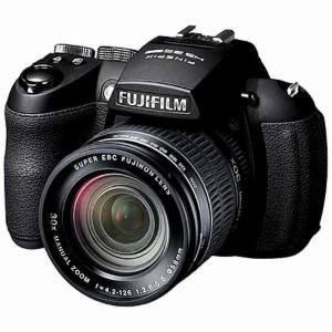 Fujifilm FinePix HS25EXR front view