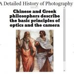 A Detailed History of Photography (Timeline)