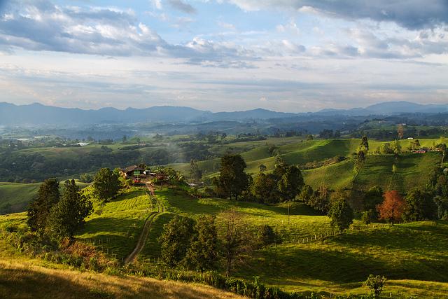 Colombian Landscape, Filandia, Quindio. -- Landscape photography tips