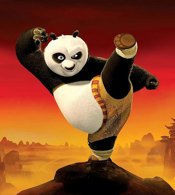 poster of kungfu panda movie --