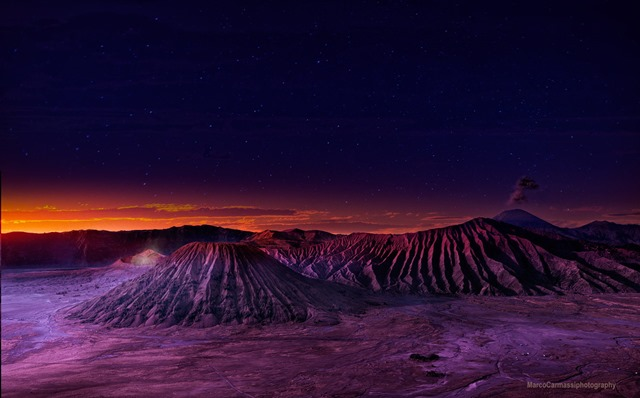 photo of mount bromo
