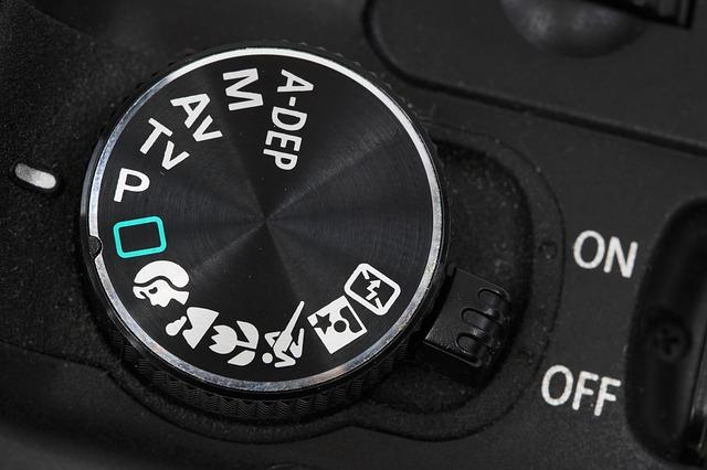 aperture priority mode in dial